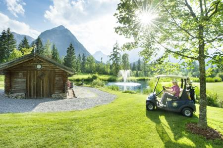 Golfplatz in Pertisau am Achensee